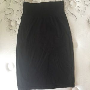Wilfred fitted stretchy skirt